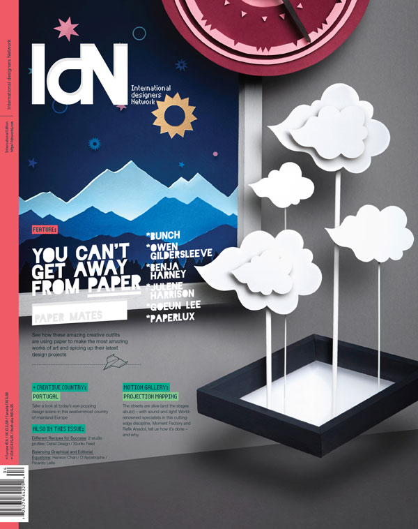 IdN v20n4: Paper Special — You can't get away from paper!