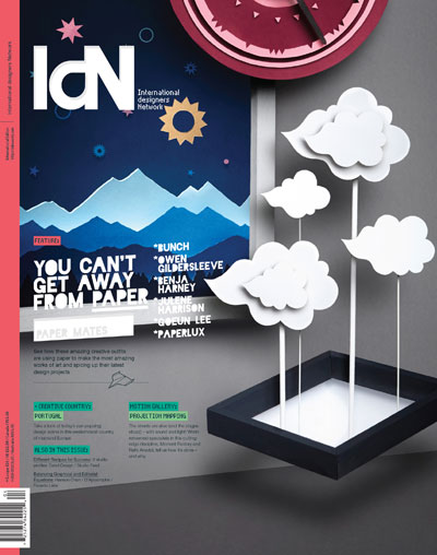 IdN v20n4: Paper Special – You can't get away from paper!