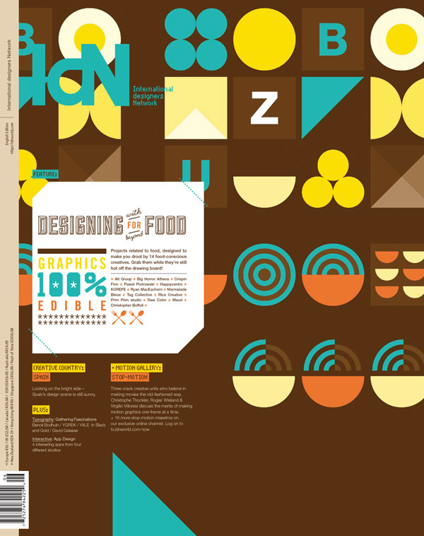IdN v20n6: Edible Graphics — Designing for Food