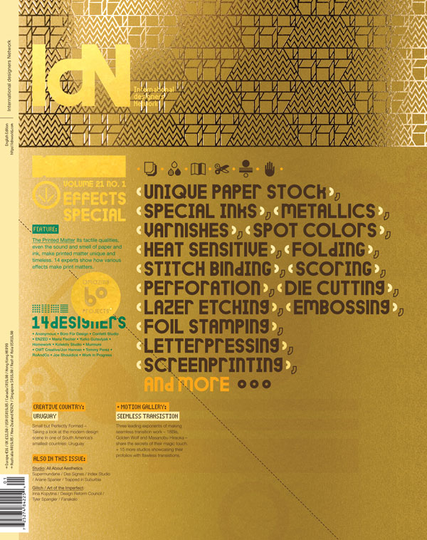 IdN v21n1: Printed Effects Special — The Printed Matters