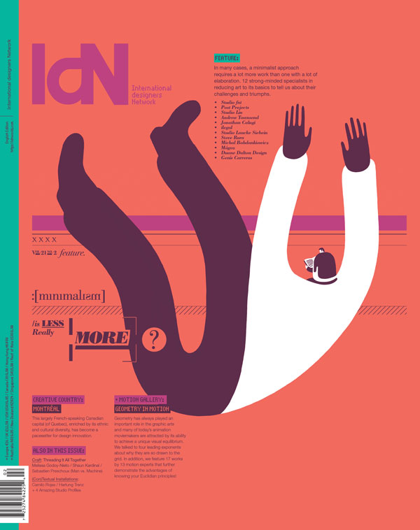 IdN v21n2: Minimalist Issue — Is Less More?