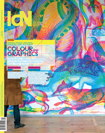IdN v22n1: Colour and Graphics – Nailing their Colours to the Mask