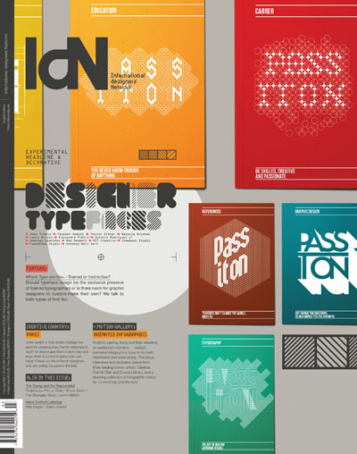 IdN v22n3: Designer Typefaces – Which type are you – Trained or Instinctive?