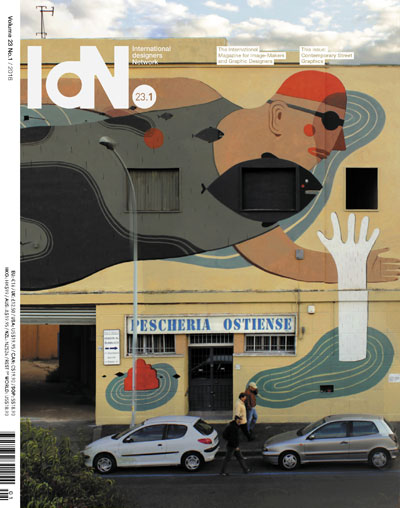 IdN v23n1: Contemporary Street Graphics – In collaboration with Inkygoodness