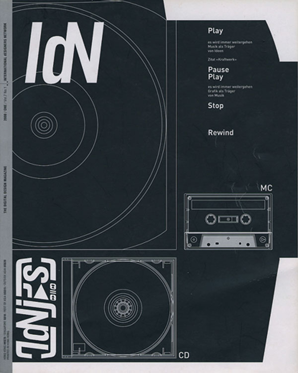 IdN v7n1: Music Graphics Issue – The Music Makers