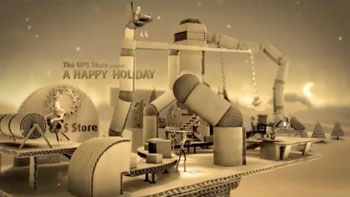 "The UPS Store ""A Happy Holiday"" by Psyop (0:30)"