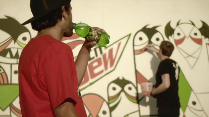 "Mountain Dew ""Green Label Art TV"" by Shilo (0:30)"