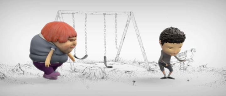 """""""Fatty Wants A New Toy"""" by Jon Saunders & Tony Barbieri for Twenty120 (1:21)"""