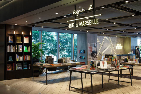 agnès b. RUE DE MARSEILLE 生活概念店