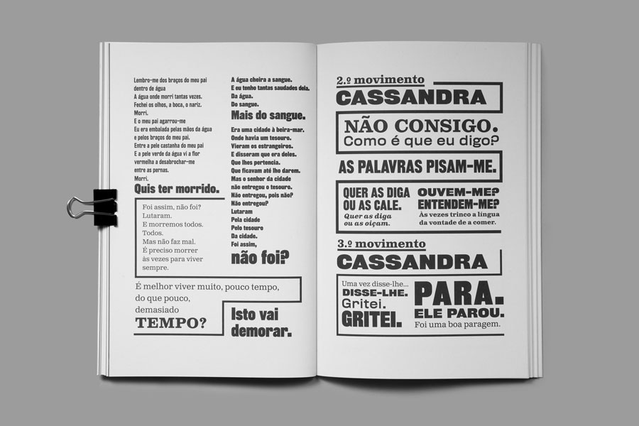 "Casssandra receives ""certificate of typographic excellence"" from Type Directors Club – Porto, Portugal"