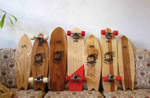 Woody Skateboards brings the wood back to the street!