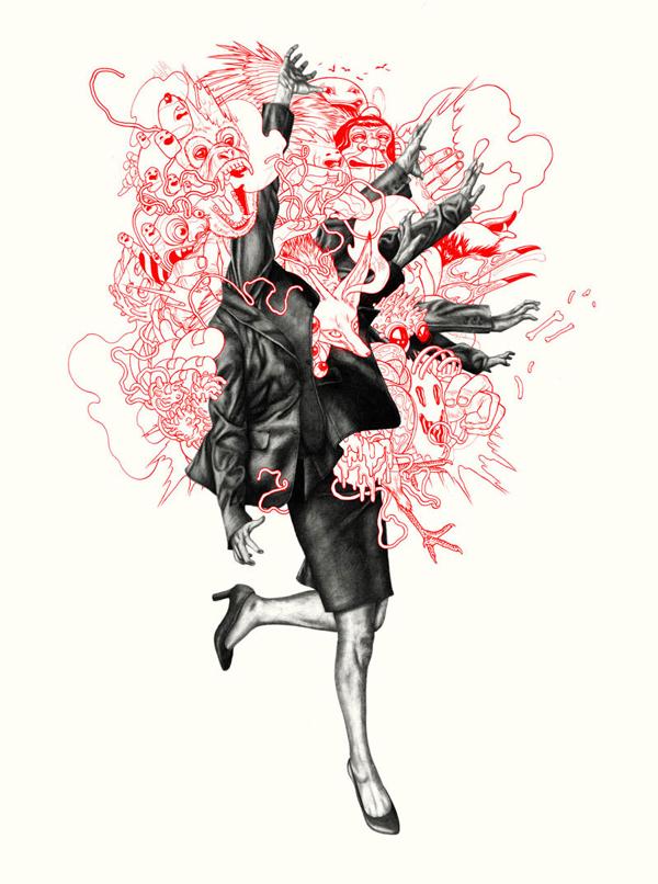 Acid Print Suite No. 4 – Clozapine by Zach Johnsen