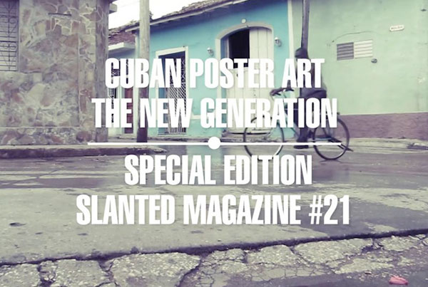 Support Slanted 21: Cuban Art Poster (Karlsruhe, Germany)