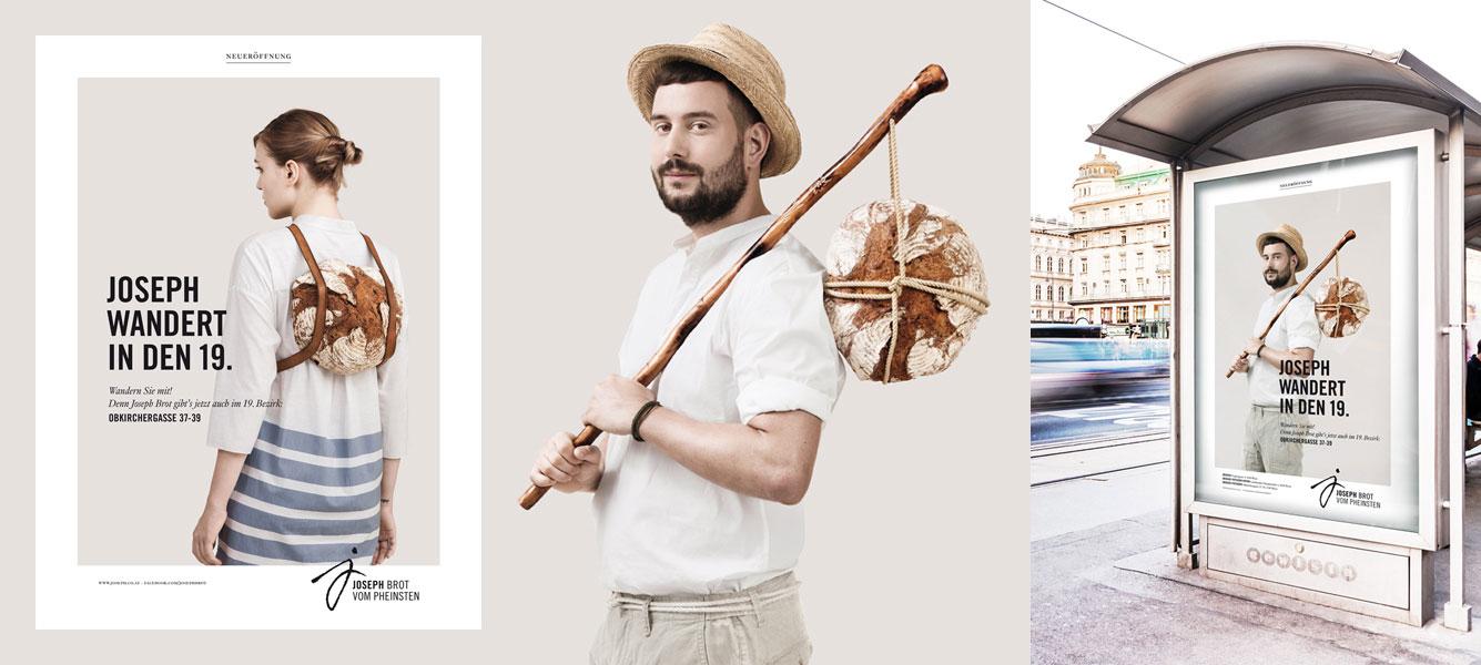 Dvorak trifft Schwab rebrands for Joseph Brot – Vienna, Austria