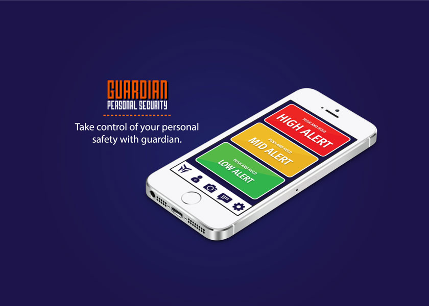 The Guardian Personal Security App by Roundhouse – Brisbane, Australia