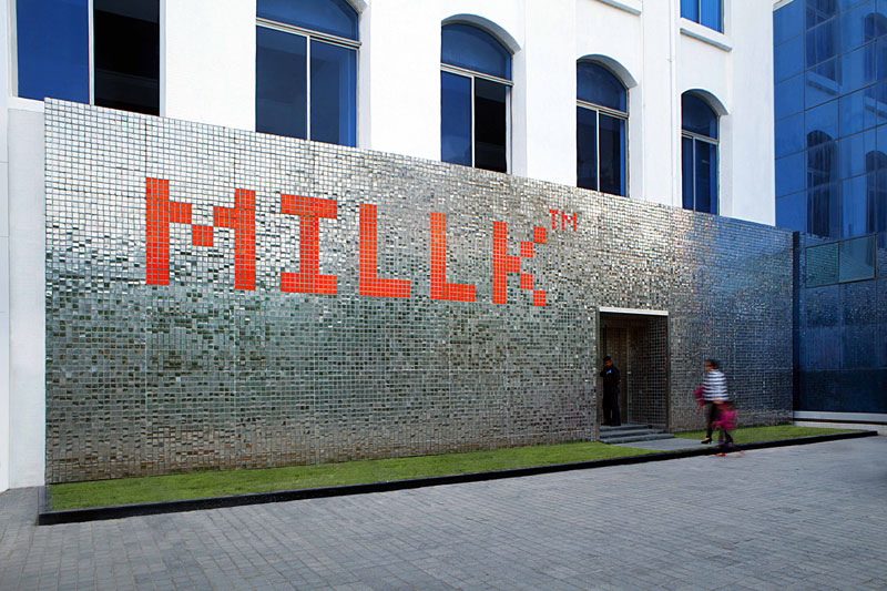 Umbrella Design creates branding and space design for MILLK