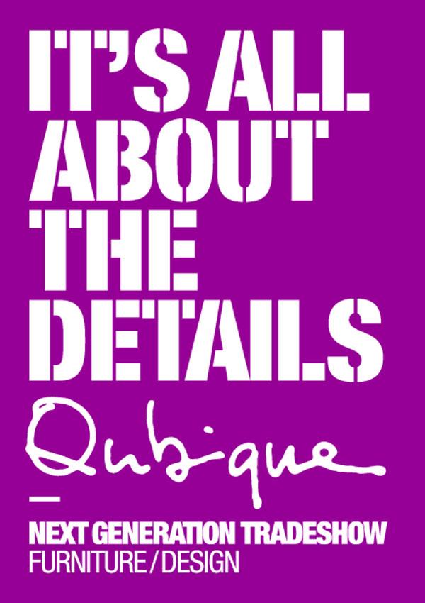 Qubique Tradeshow: 26-29 OCT 2011