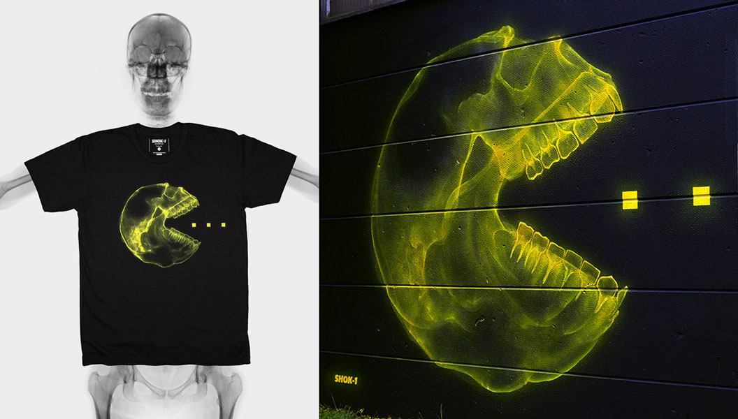 The 'Consumer' T-shirt by SHOK-1 – London, UK