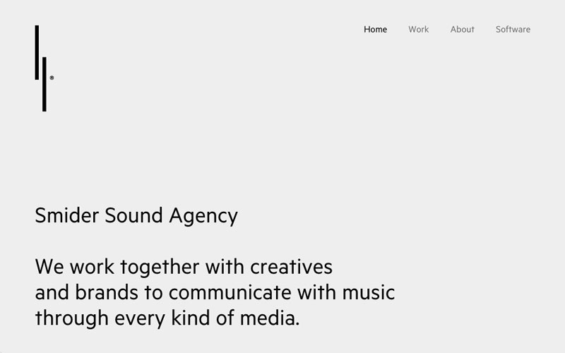 Smider Sound Agency launches New Website! – Milan, Italy