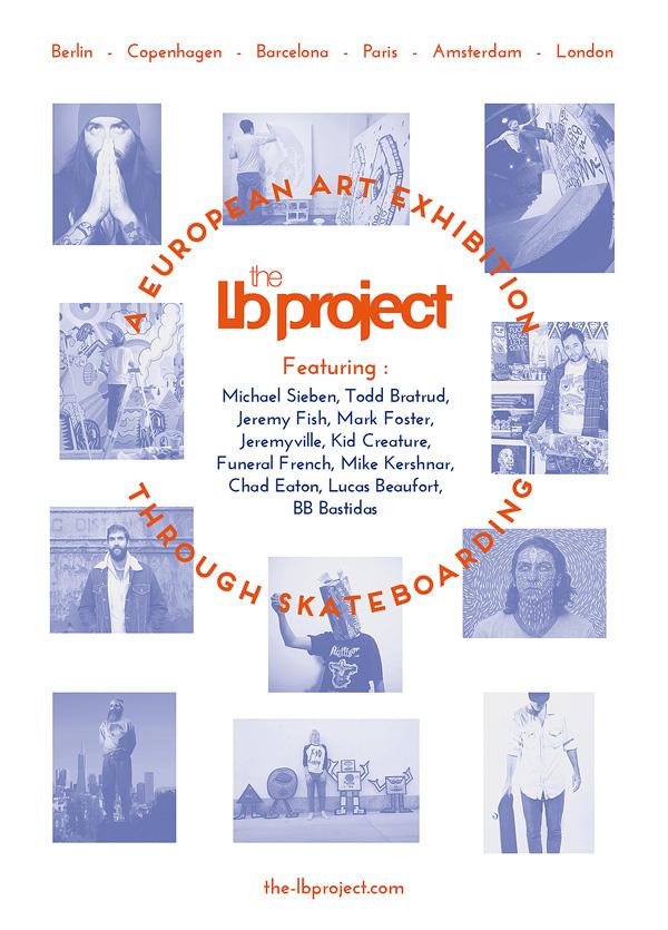 The LB Project – An European Art Exhibition through Skateboarding
