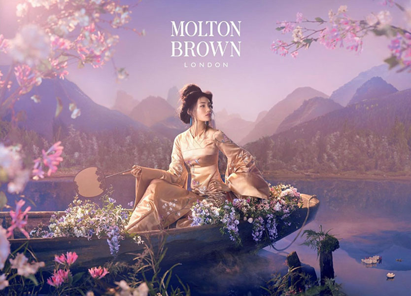 Petra Storrs Design Studio for Molton Brown Spring/Summer 2015 Campaign – London, UK