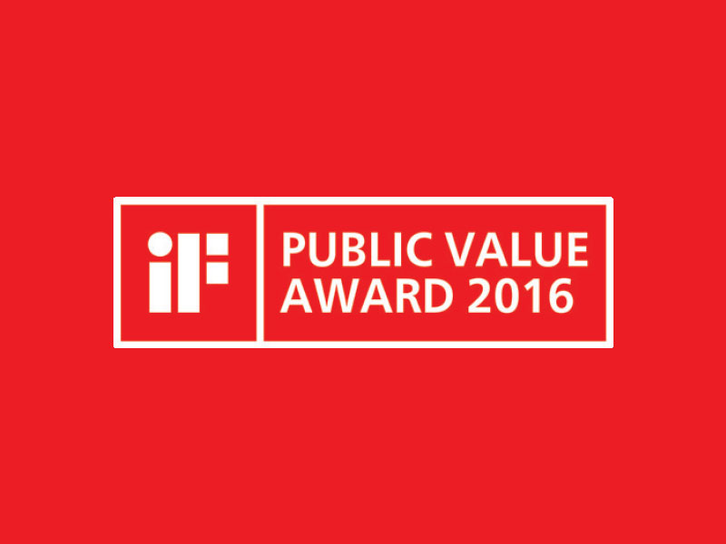iF Public Value Award 2016 – Hannover, Germany