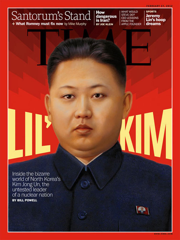 Lil' Kim for Time Magazine by Post Typography (Baltimore, USA)
