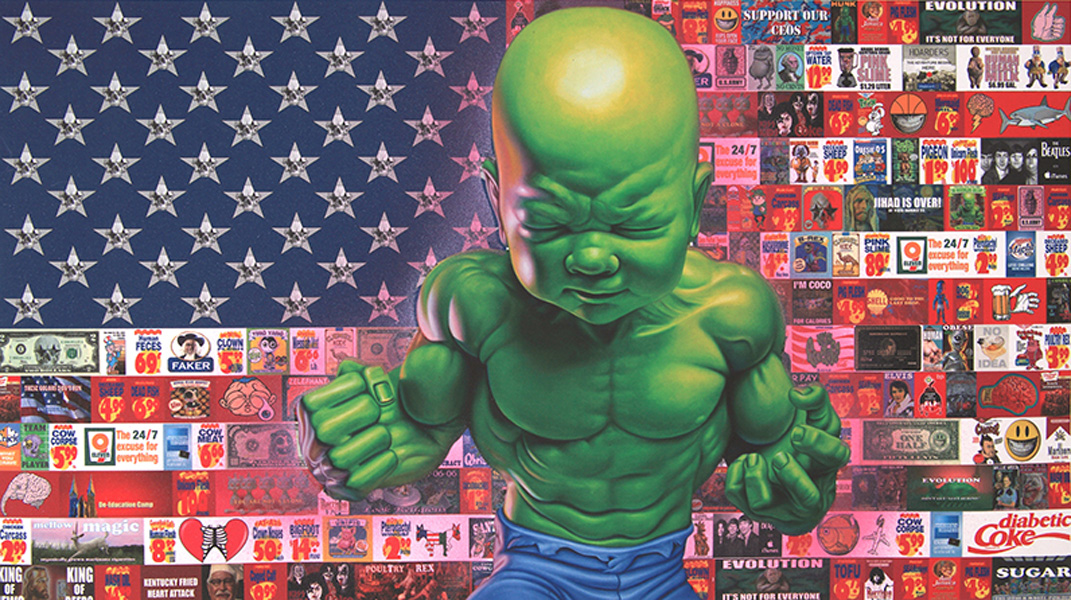 All-American Temper Tot Print available at POPaganda – New York, USA