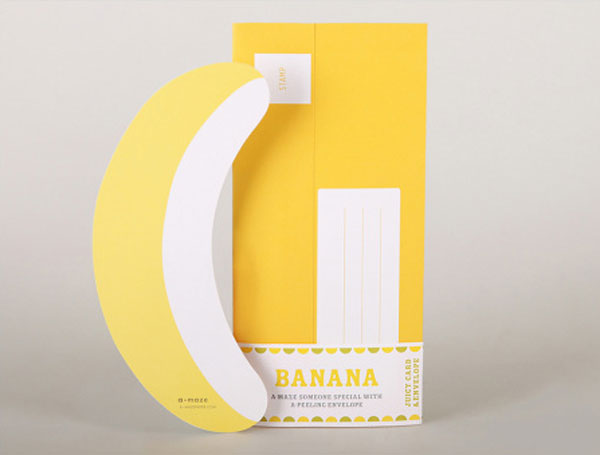 Juicy Mail Banana by A-maze Paper