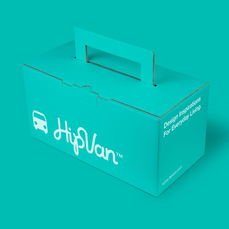 Branding & Packaging for HipVan by BRAVO