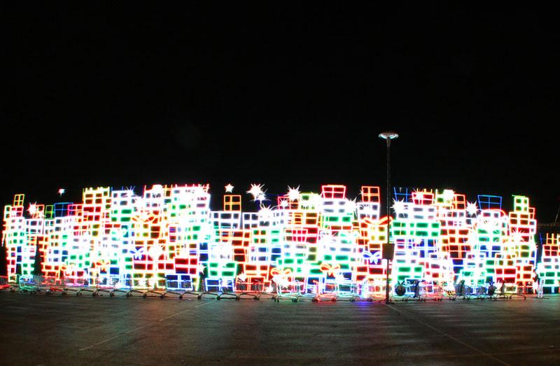 Immersive turns LED Christmas Lights for Tesco TV Advert