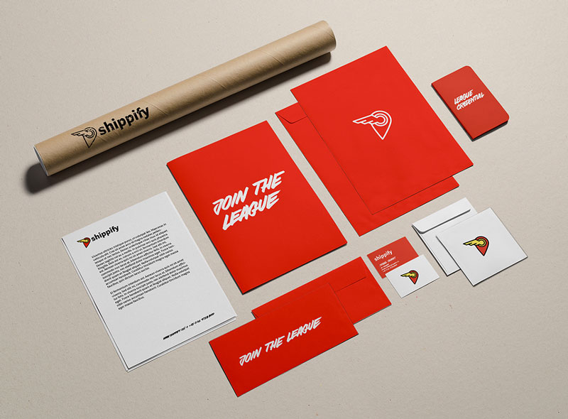 Identity for Shippify by Re-Robot
