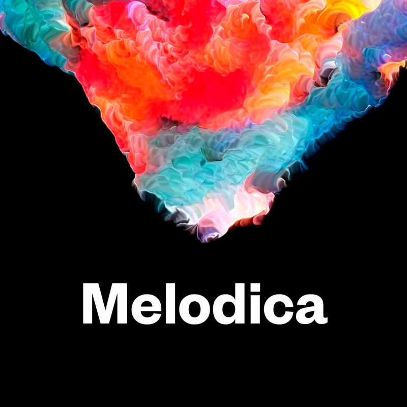 Identity for London based radioshow Melodica by Ritator