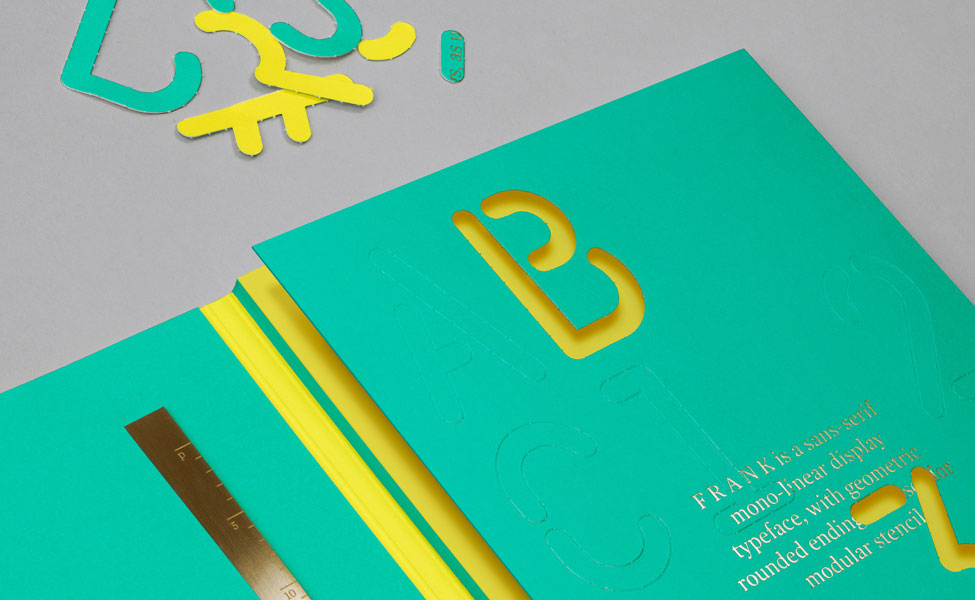 FRANK — Limited Edition Typeface designed by Bunch – London / Zagreb
