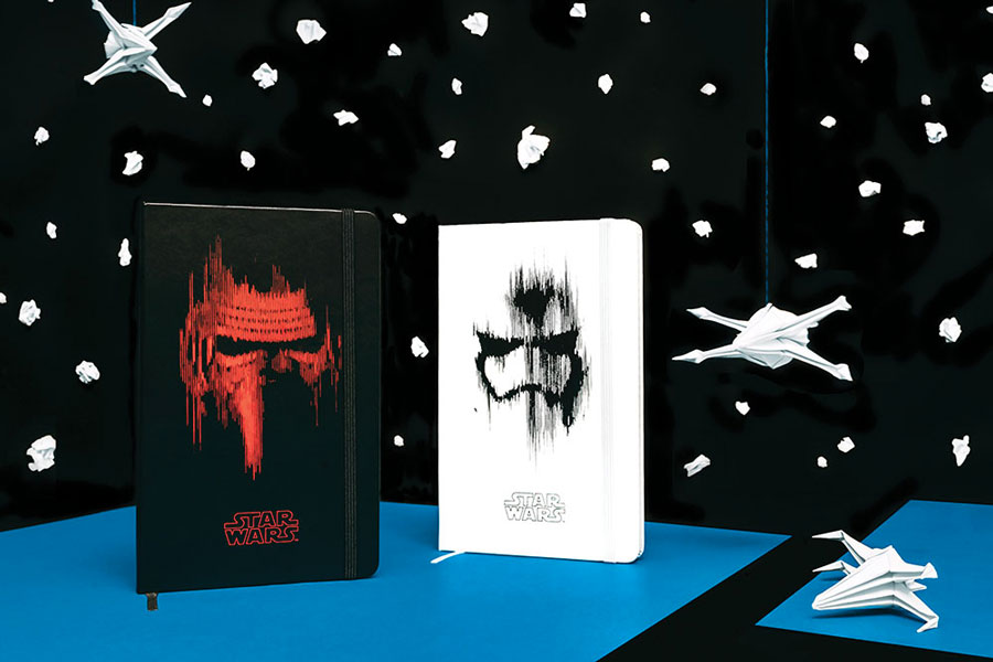 The Star Wars Moleskin Collection – Milan, Italy