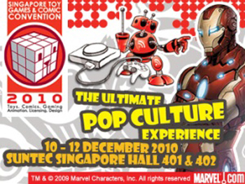 Singapore Toy, Games and Comic Convention