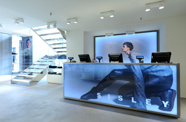 The all-new Sisley Concept Store – Milan, Italy