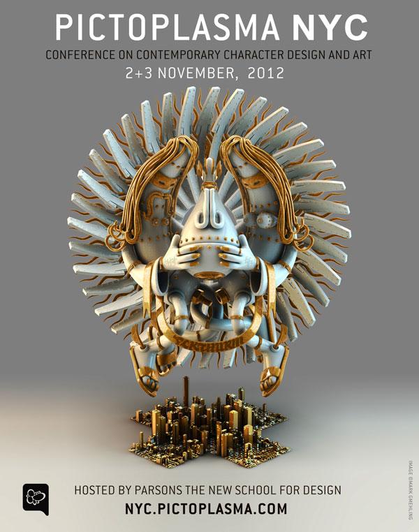 PICTOPLASMA NYC — 2-3 NOV 2012 at Parsons