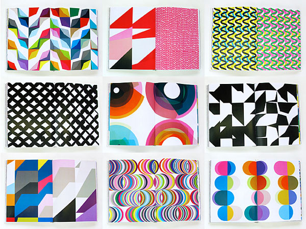 Geometric Pattern Book by KAPITZA (London, UK)