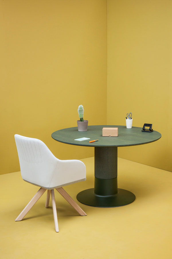 The all-new Arco Balance Table by Raw Color – Eindhoven, The Netherlands