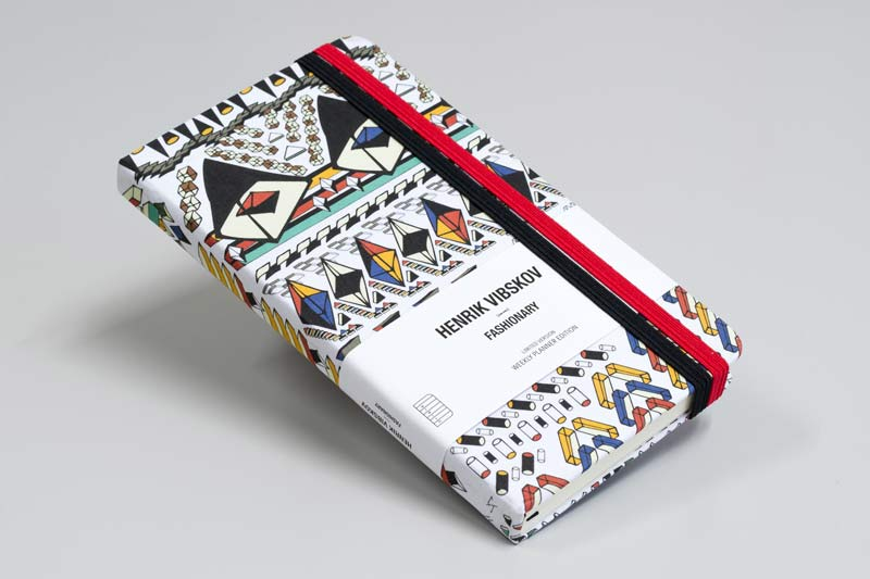 Henrik Vibskov X Fashionary 2015 planner just launched!