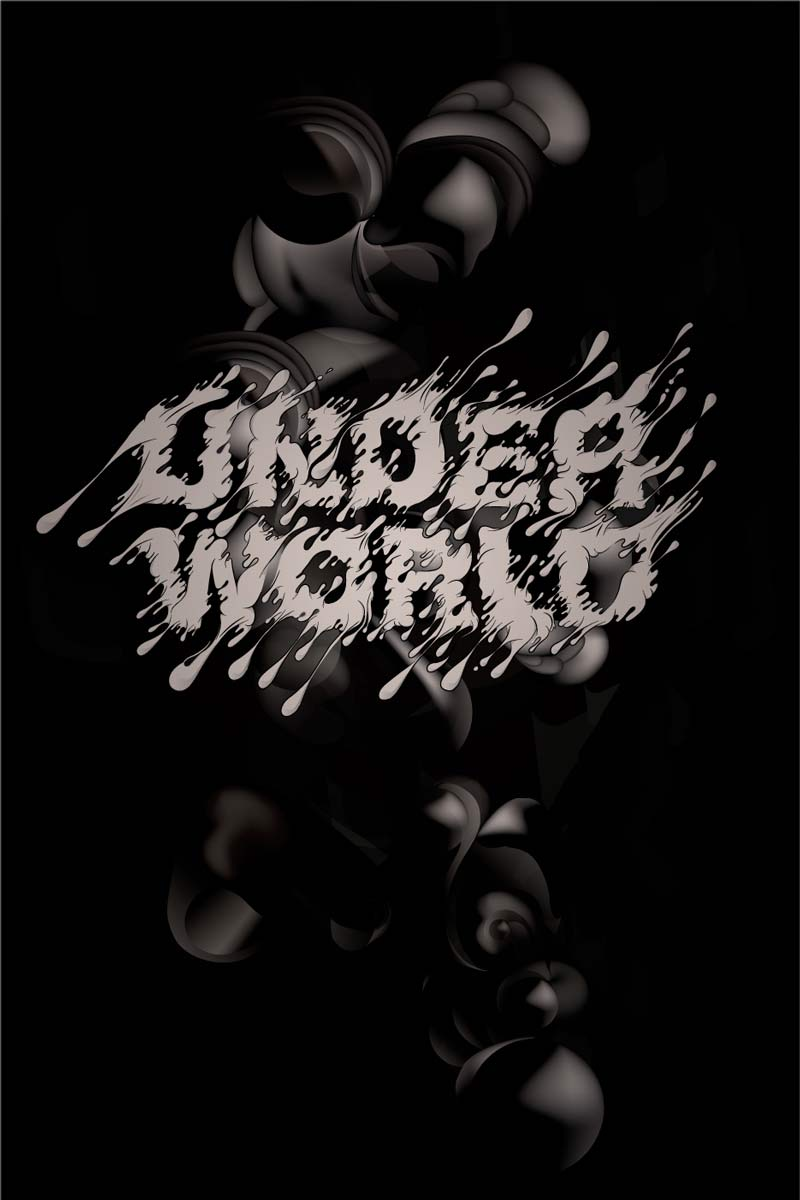 Lluís Campmajó created poster for Underworld electronic music festival