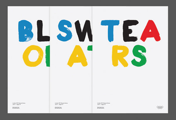 Olympic Posters by Thomas Bræstrup – Copenhagen, Denmark