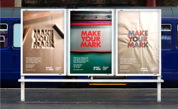 plymouth college of art campaign presented by ycn studio  u2014 london  uk