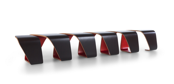 Bench DNA by Leonardo Rossano and Debora Mansur for TRUE design