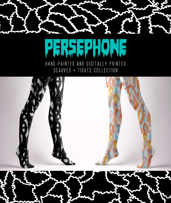 Persephone: The Patternbase's Silk Scarves and Stockings Collection
