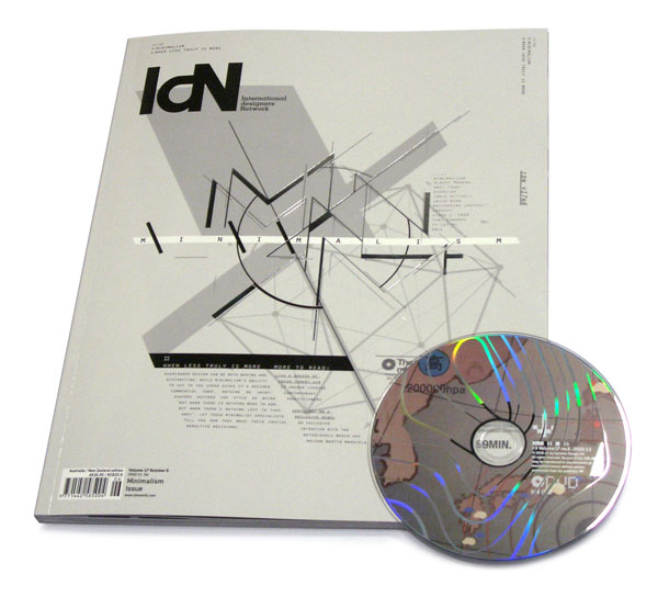 IdN v17n6: Minimalism Issue (US$17.5)