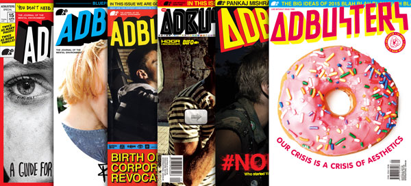 Adbusters 1-year Subscription