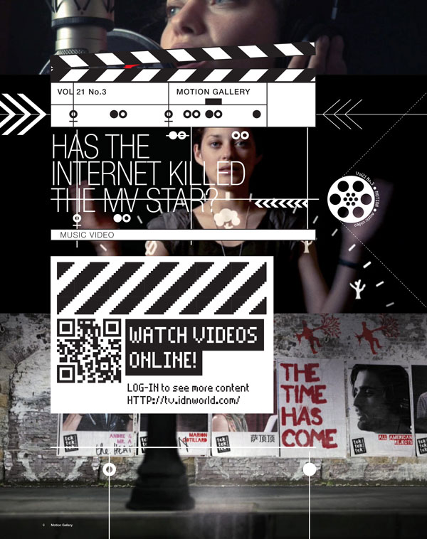 IdN TV v21n3: Music Video – Has the Internet killed the MV star?