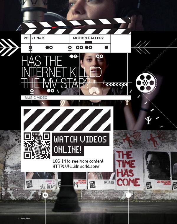 IdN TV v21n3: Music Video – Has the Internet killed the MV star?